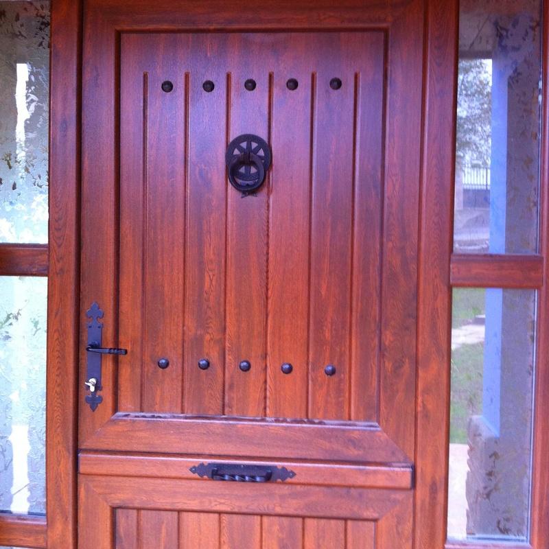 Puertas de cuarterón Asturias: Productos de Aluminios Martinez