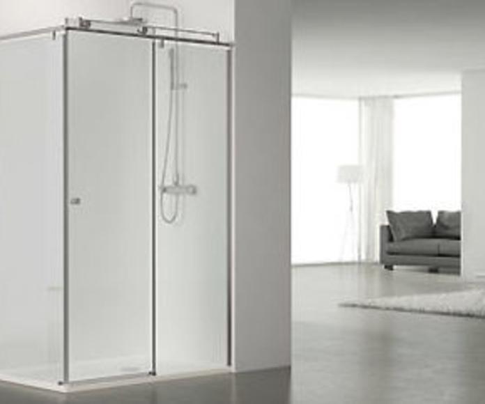 Correderas. Serie Steel: Catálogo de LMC Glass