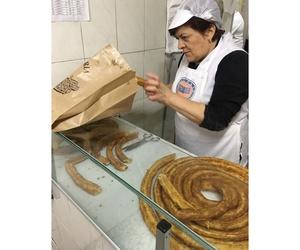 Venta de porras recién hechas en Móstoles