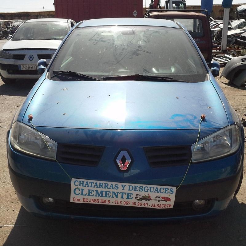 Renault Megane 2004 para desguaces Albacete en Desguacss Clemente