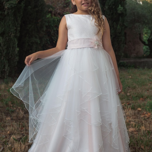 Vestidos de comunión niña Colección 2020. Lluna