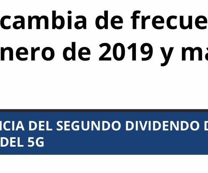 Información sobre la nueva TDT con servicio reparación de antenas en Plaza de Castilla