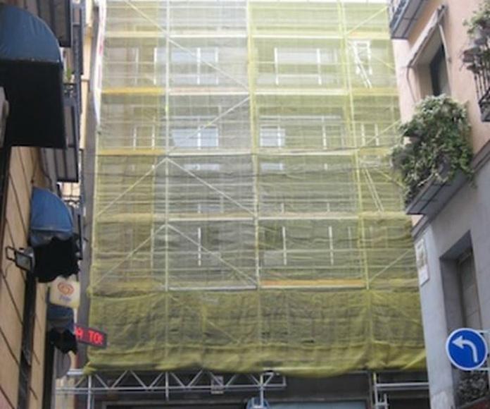 Alquiler y montaje de andamios: Servicios  de Reicom Madrid