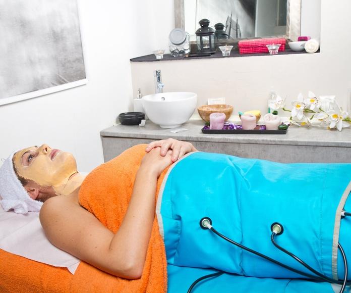 Vendas reductoras + presoterapia: Servicios de Estética Cumbrera