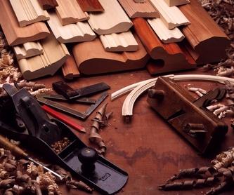 Restauración: catalogo y servicios de Carpintería Edu, S.C.