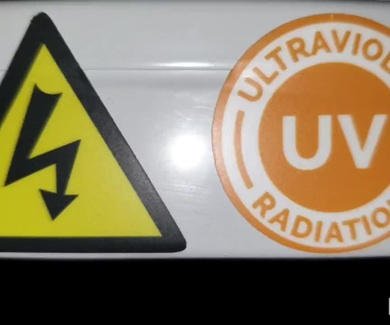 Radiación UVc germicida
