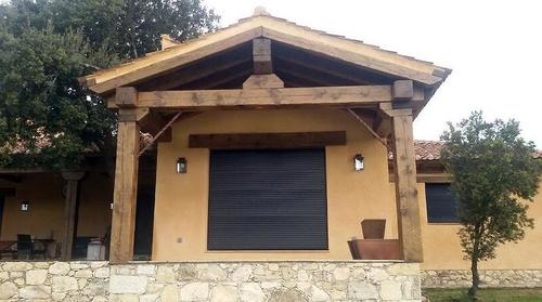Casas de campo con el confort de una vivienda moderna en Segovia