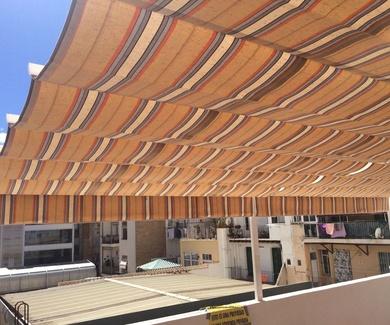 Nueva instalación de toldos Palillería en Alicante