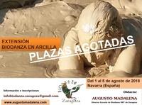Extensión Biodanza en Arcilla, con Augusto Madalena (Artaza. España) 2018