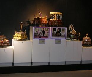 El Citba acoge una exposición de tronos de procesionar en miniatura
