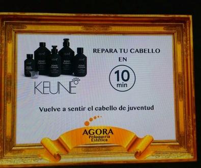 ¡ Revolucionario tratamiento reconstructor de cabello en 10 minutos x 15 € !