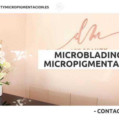 Microblading de cejas en Sants, Barcelona | DM Art Beauty