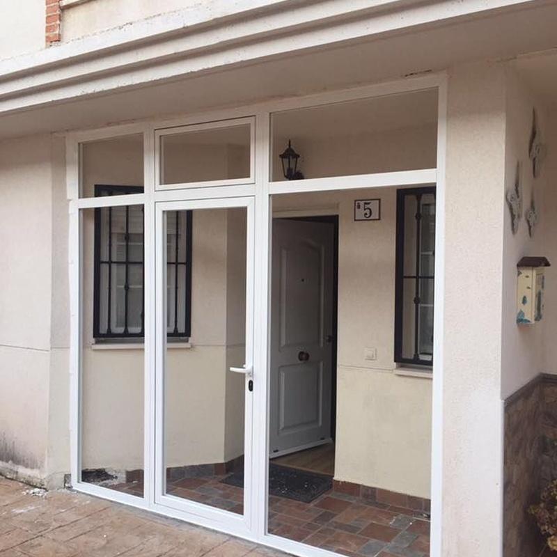 Cerramientos de aluminio y PVC: Productos y venta Online de JRG Aluminio - PVC