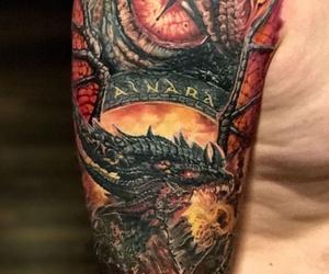 Tatuaje realismo Santander. Tatuaje color Santander. Dragón Tattoo. Verger Tattoo. JR Verger