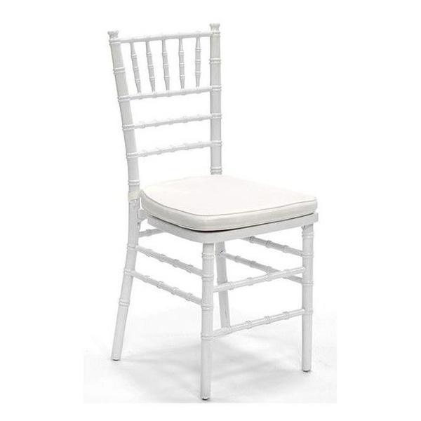Alquiler de sillas Chiavari, Tiffany.