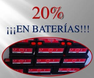 ¡¡¡OFERTA BATERÍAS!!!