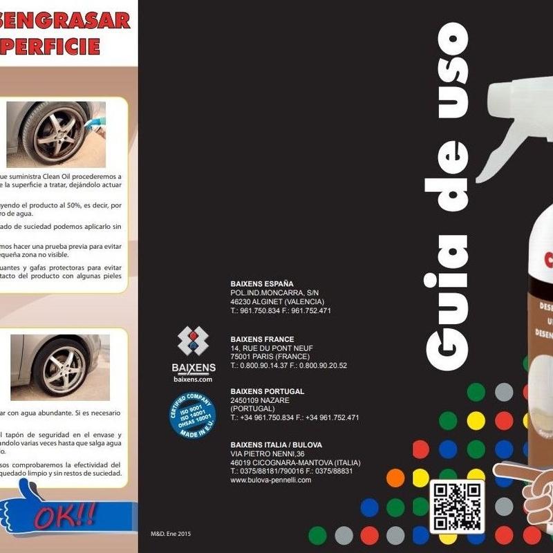 Nuestros productos Baixens: Productos y servicios de Dicerfer