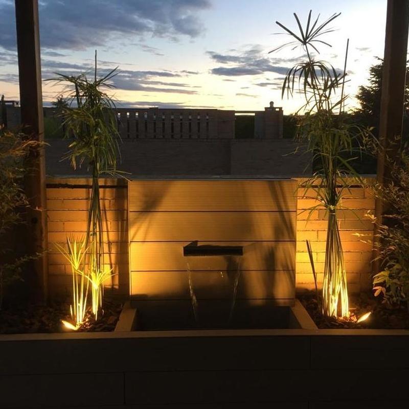 Iluminación para jardines: Servicios de Beysa Arquitectura y Paisajismo