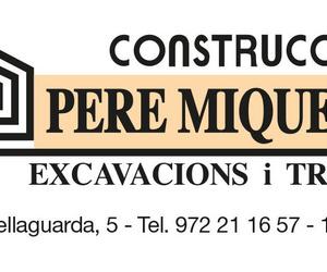 Galería de Construcción en Girona | CONSTRUCCIONS PERE MIQUEL, S.A.