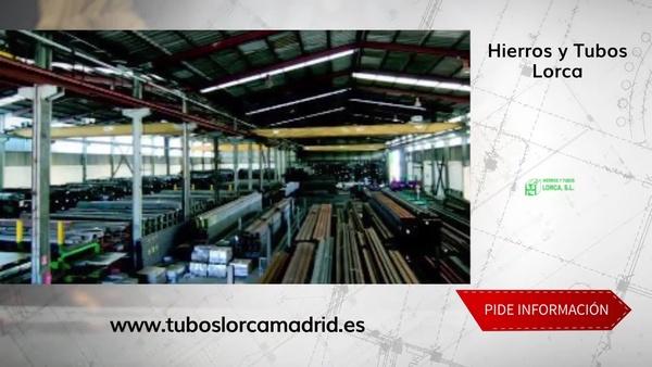 Vigas de hierro en Madrid centro en una empresa especializada