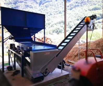 Montajes Lineas de Clasificacion de Astillas de Madera Biomasa