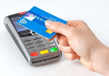 Cobro con tarjeta de crédito.