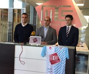 Rueda de prensa presentación Mc Interiorismo Modular como patrocinador oficial del SD Compostela