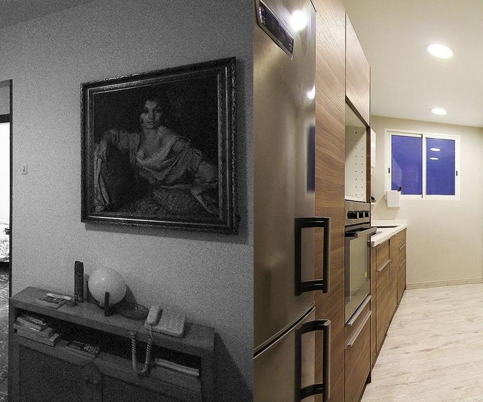 Diseño y reforma de vivienda en Barcelona.