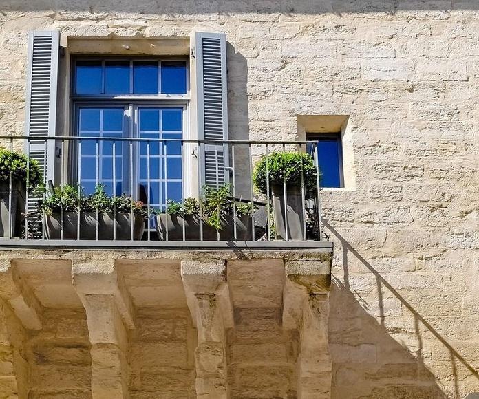 Balcones de aluminio: Servicios de Aluminios Araya