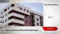 Carpintería de aluminio en Burgos con una excelente relación calidad-precio.