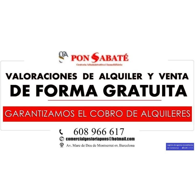 Valoración de inmuebles: Servicios de Pons Sabaté