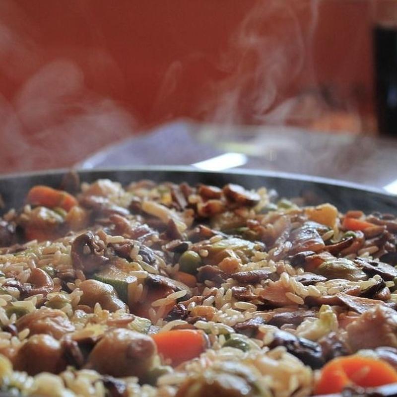 Arroces y guisos: Carta y menús de Mesón La Mezquita