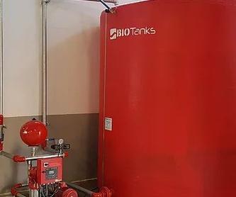 Obras y proyectos: Servicios y productos de Incoval Protección Contra Incendios