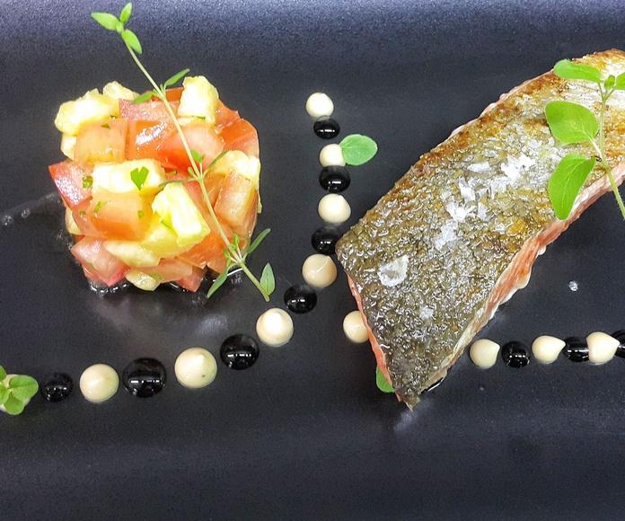 Pescados y carnes: Servicios y carta de Restaurante Sibariz