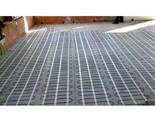 Calefacción de suelo radiante por agua