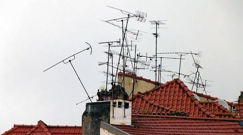 Instalación de antenas para televisión