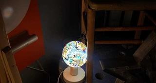 LAMPARA DECORATIVA  LED TIFFANY