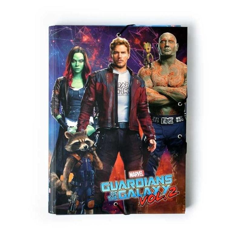 1 Carpeta solapas Marvel Guardians Of The Galaxy