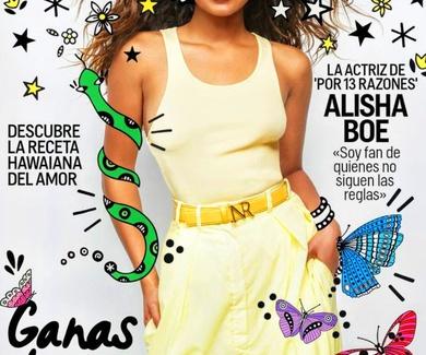 Próxima entrevista en Cosmopolitan