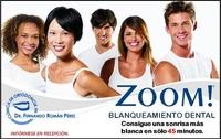 Blanqueamiento Dental ZOOM: Tratamientos y Productos de Odontología Integral Fernando Román