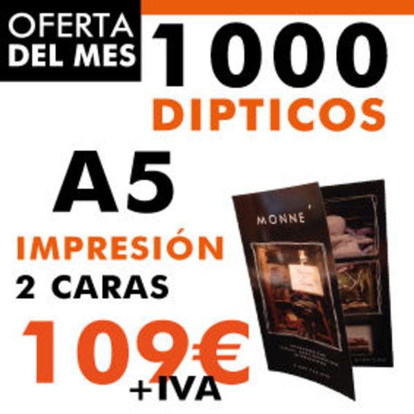 Impresión de dípticos en barcelona - Copyshow