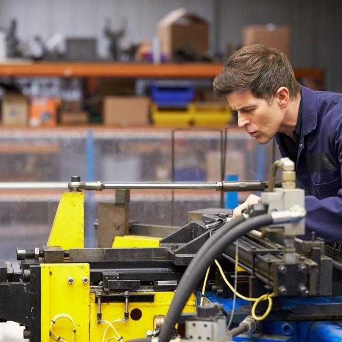 Las industrias que se sirven del mecanizado