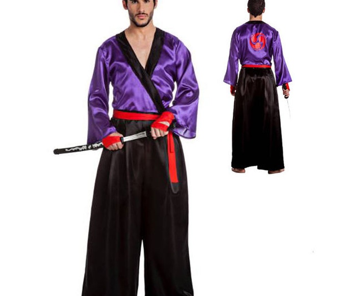 Disfraz samurai