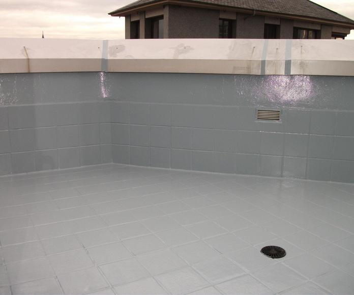 Impermeabilización terraza aviles.