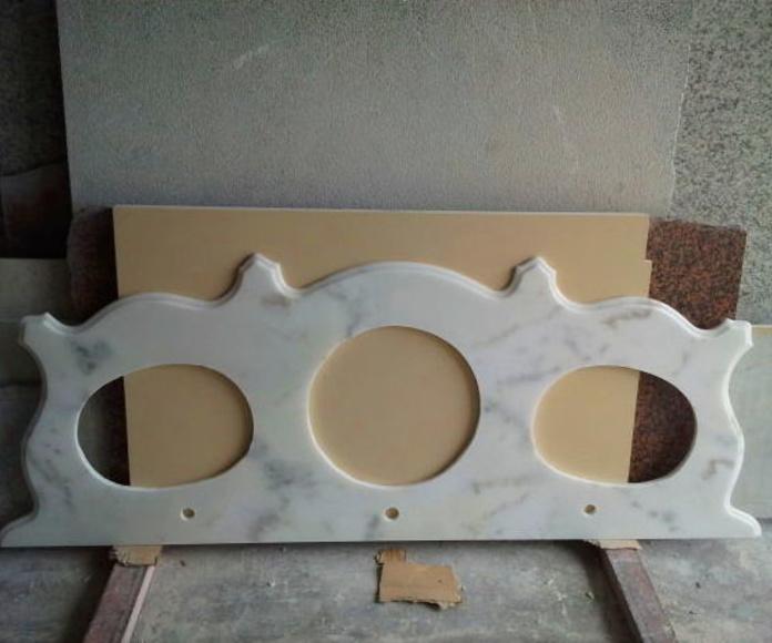 Encimeras de lavabo: Productos y servicios de Mármoles y Granitos Interlap