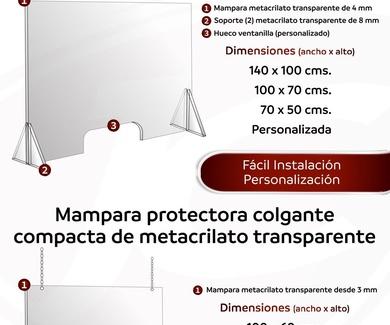 Mamparas para Covid19