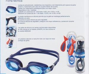 Gafas de natación neutras o graduadas
