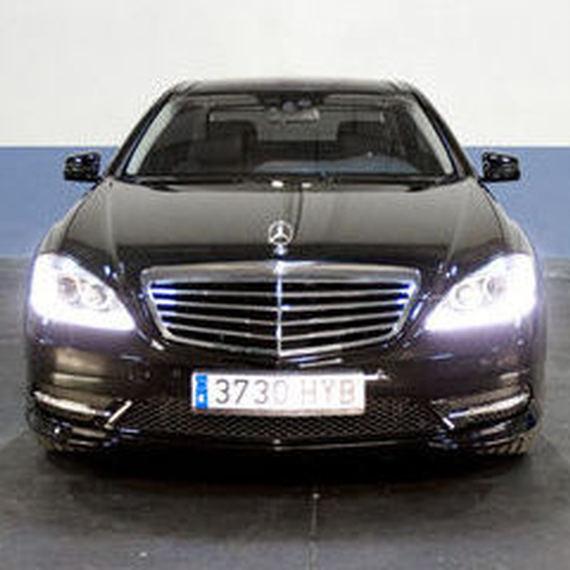 Mercedes S class rental with driver in Madrid