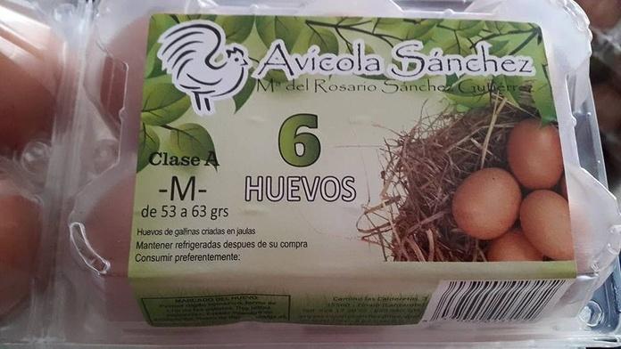 Huevos cáscara: Productos de Avícola Sánchez