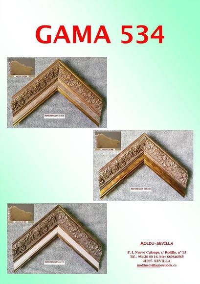 GAMA 534: Muestrario de Moldusevilla